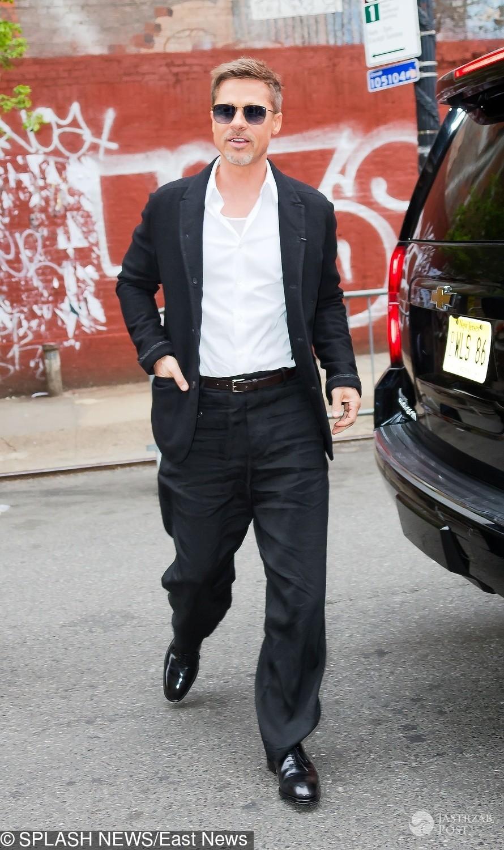 Brad Pitt idzie na imprezę Netflixa 2017