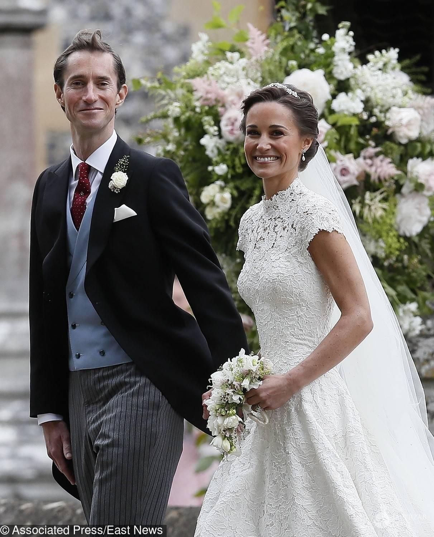Suknia ślubna Pippy Middleton, siostry księżnej Kate