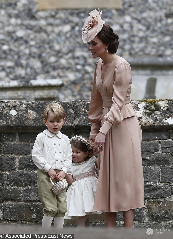 Książę George popłakał się na ślubie Pippy Middleton