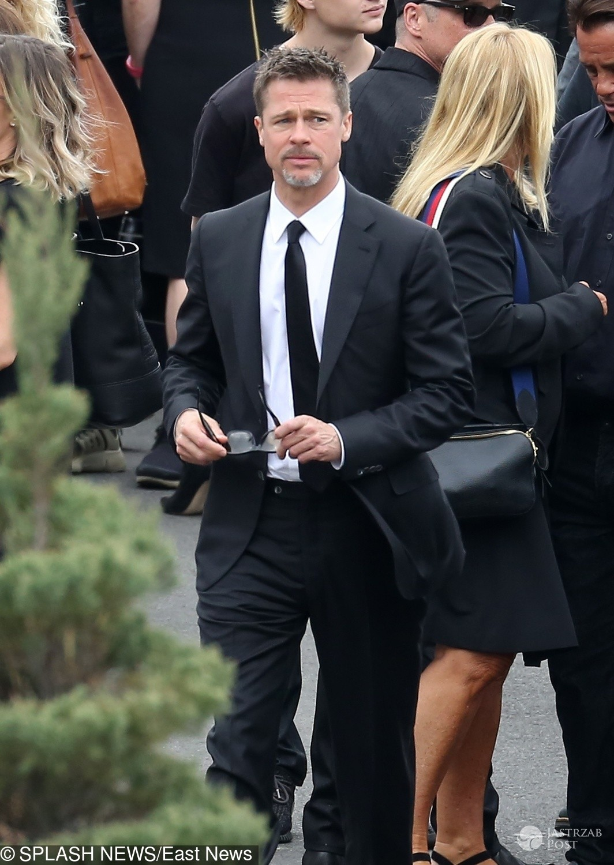 Brad Pitt - Pogrzeb Chrisa Cornella
