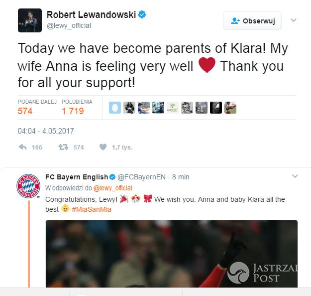 Robert Lewandowski Twitter