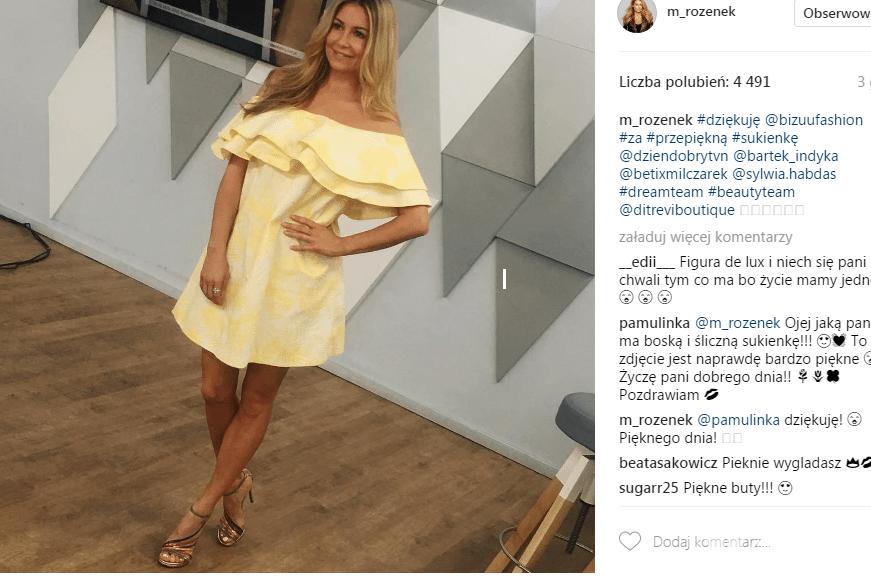 Małgorzata Rozenek kocha kolory! Ta stylizacja tylko to potwierdza - Małgorzata Rozenek Instagram