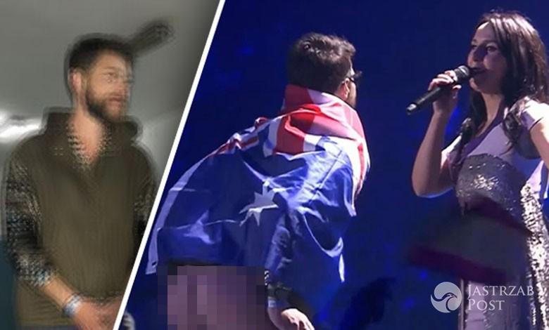Witalij Sediuk pokazał dupę na Eurowizji 2017