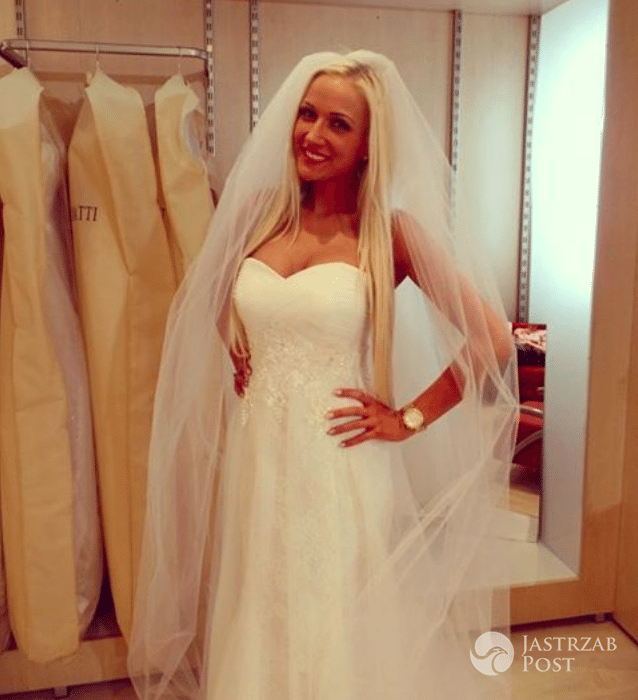 Eliza Wesołowska w sukni ślubnej. Kiedy ślub z Trybsonem?