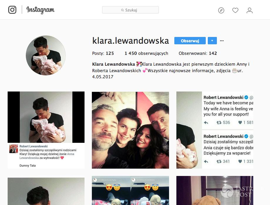 Klara Lewandowska - Instagram