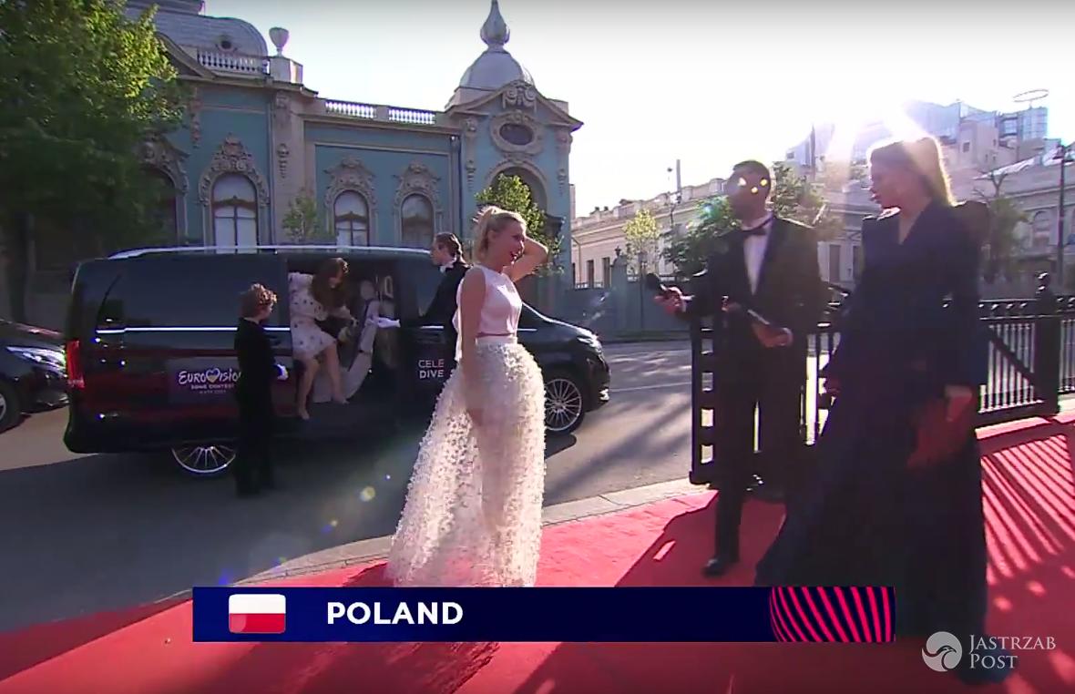 Kasia Moś na otwarciu Eurowizji 2017