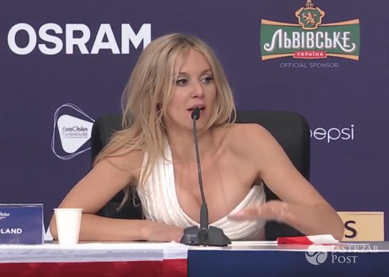 Kasia Moś na konferencji po półfinale Eurowizji 2017