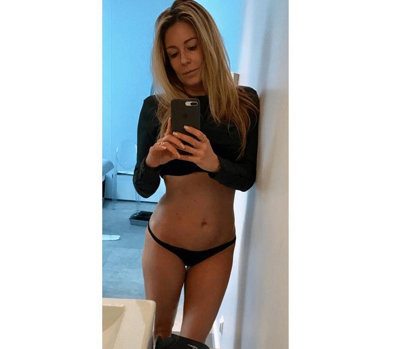 Małgorzata Rozenek w stringach - selfie na Instagramie