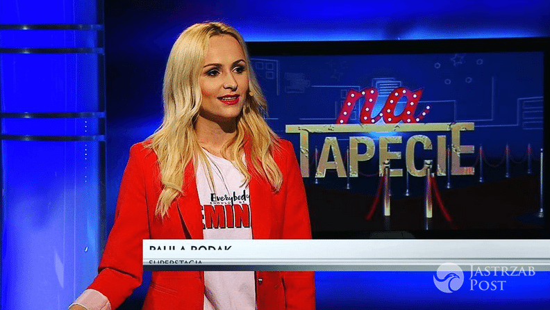 Dziennikarka Superstacji, prowadząca Na tapecie - Paula Rodak