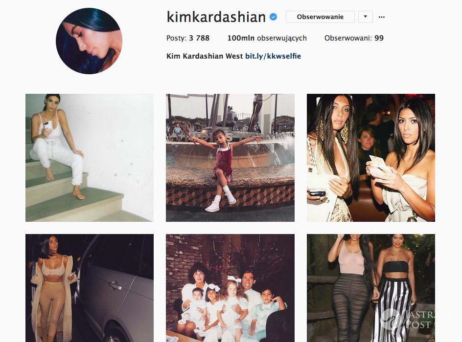 Kim Kardashian 100 milionów fanów