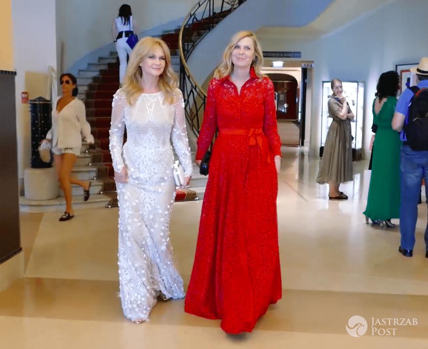 Grażyna Torbicka i Wioletta Rosołowska (Prezes Zarządu L'Oréal Polska) w Cannes 2017