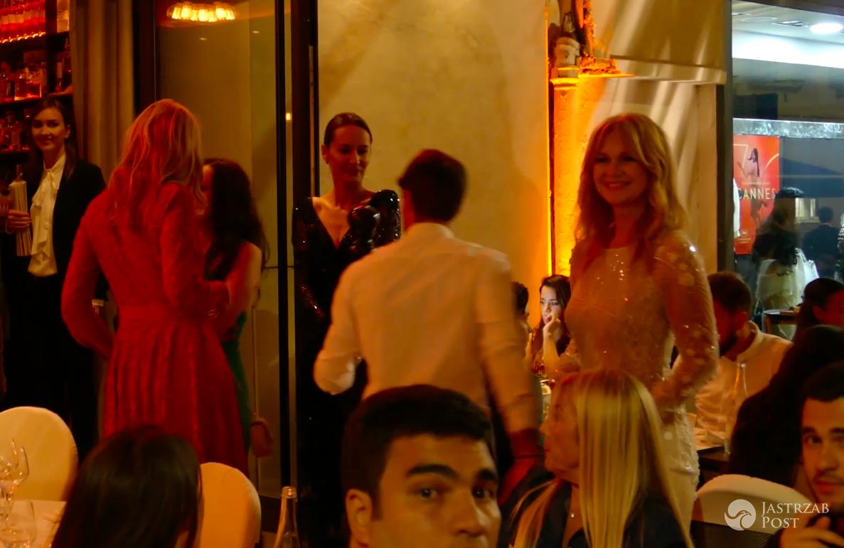 Urodzinowa impreza urodzinowa Grażyny Torbickiej w Cannes 2017