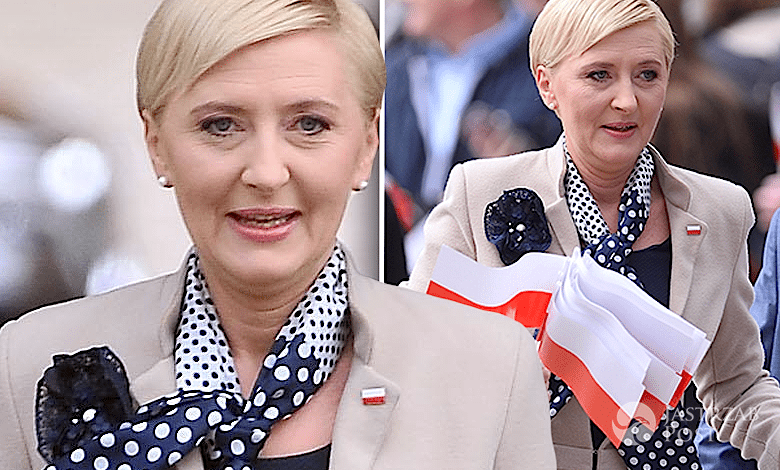 Agata Duda Święto Flagi Narodowej