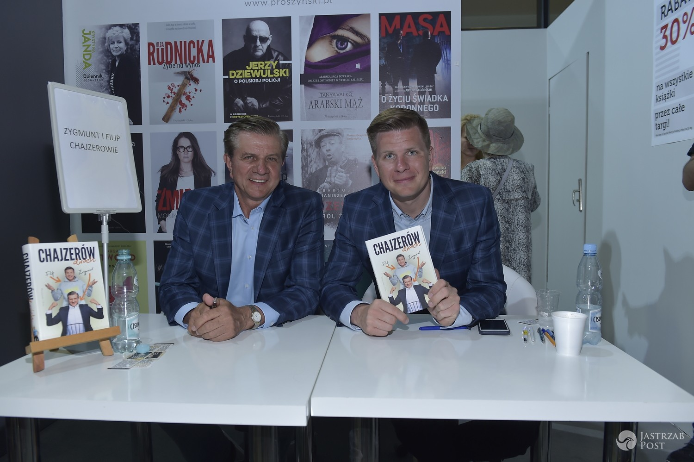 Filip Chajzer i Zygmunt Chajzer - Warszawskie Targi Książki 2017