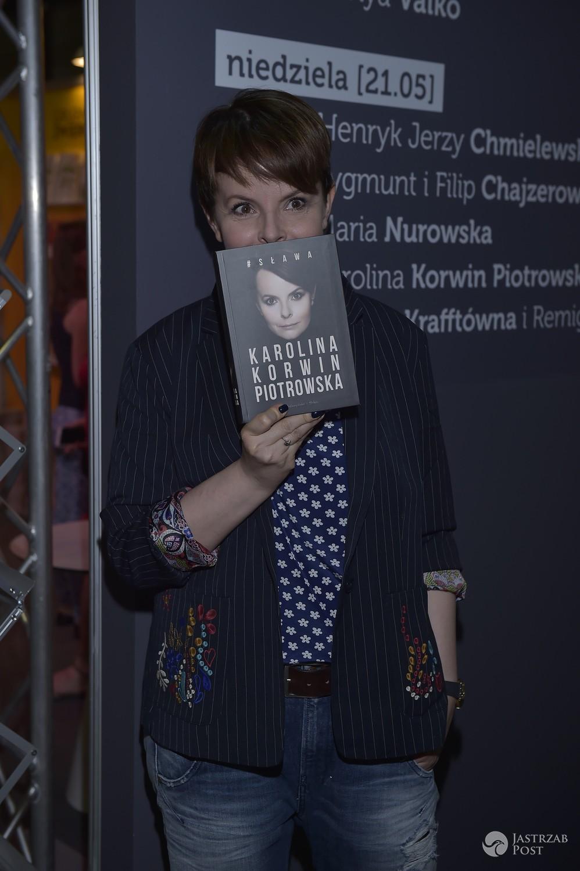 Karolina Korwin Piotrowska - Warszawskie Targi Książki 2017