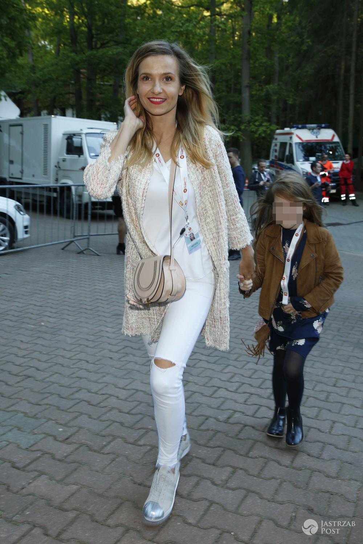 Joanna Koroniewska z córką w Sopocie na festiwalu 2017