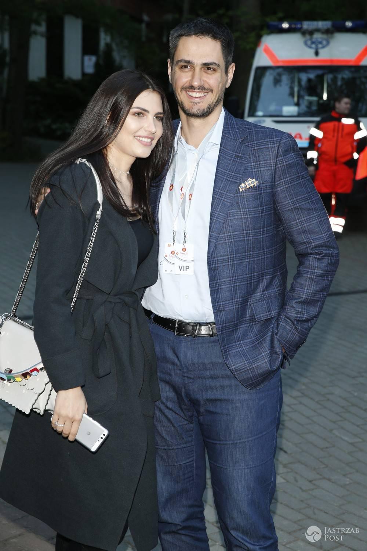 Tobias Solorz z żoną Moniką Suchocką w Sopocie 2017