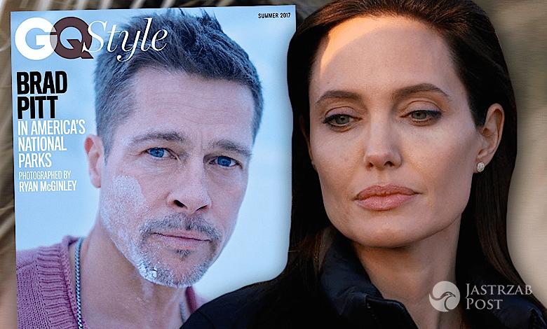 Brad Pitt GQ rozwód z angeliną jolie