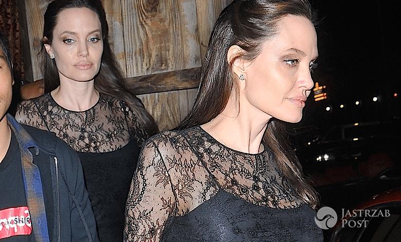Angelina Jolie z synem