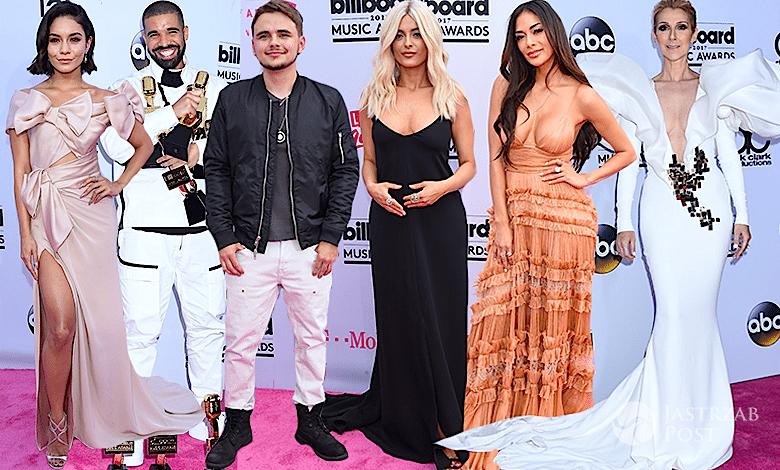 Billboard 2017 kto wygrał, kreacje