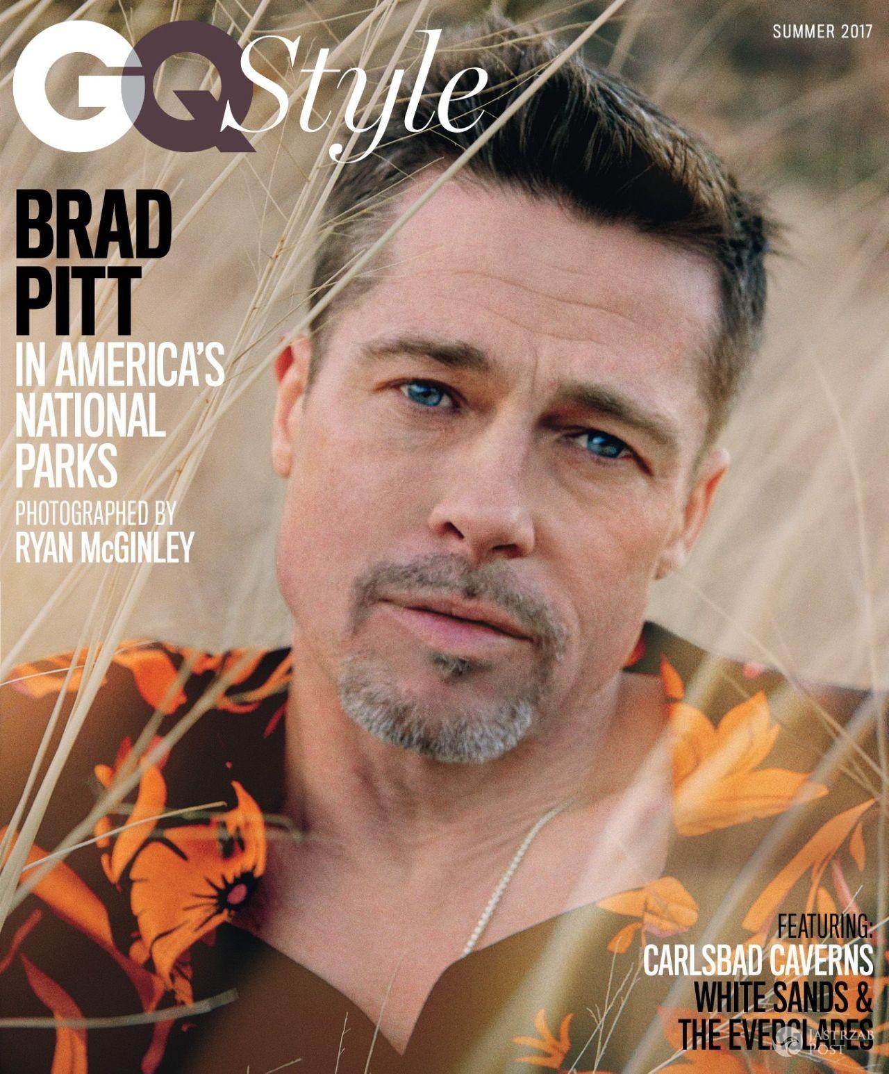 Okładka i wywiad z Bradem Pittem dla GQ