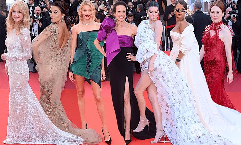 Cannes 2017 kreacje, najlepiej ubrani