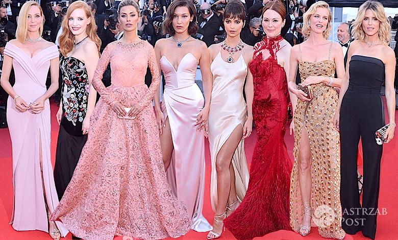 Cannes 2017 kreacje na otwarciu