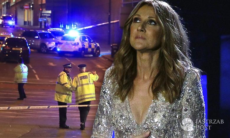 Celine Dion atak w Manchesterze