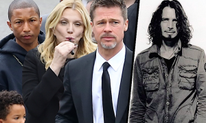 Gwiazdy pożegnały Chrisa Cornella: Brad Pitt, Pharell Williams, Courtney Love