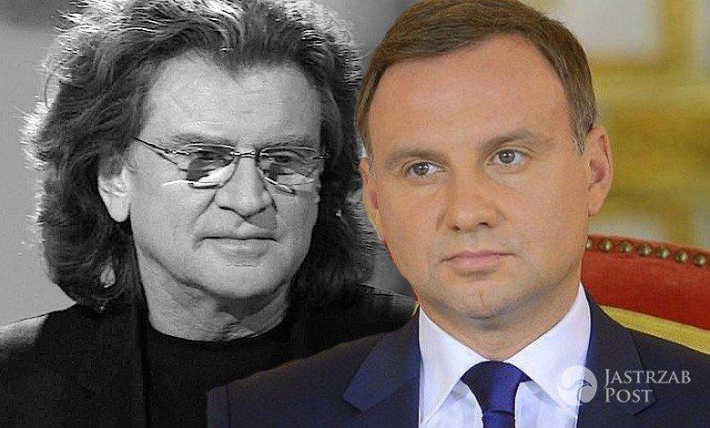 Andrzej Duda żegna Zbigniewa Wodeckiego