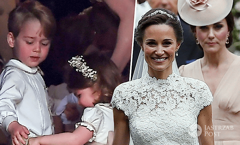 bd36faf963 Księżniczka Charlotte na ślubie Pippy Middleton zaliczyła wpadkę