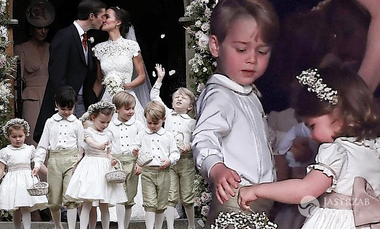 Księżna Charlotte i książę George na ślubie Pippy