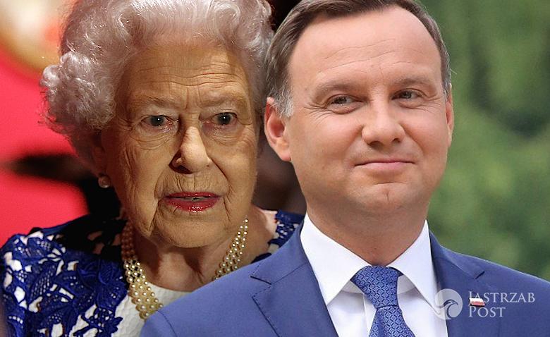 Andrzej Duda list do królowej Elżbiety II