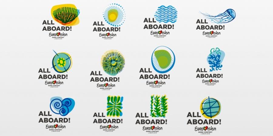 Logo i slogan Eurowizji 2018