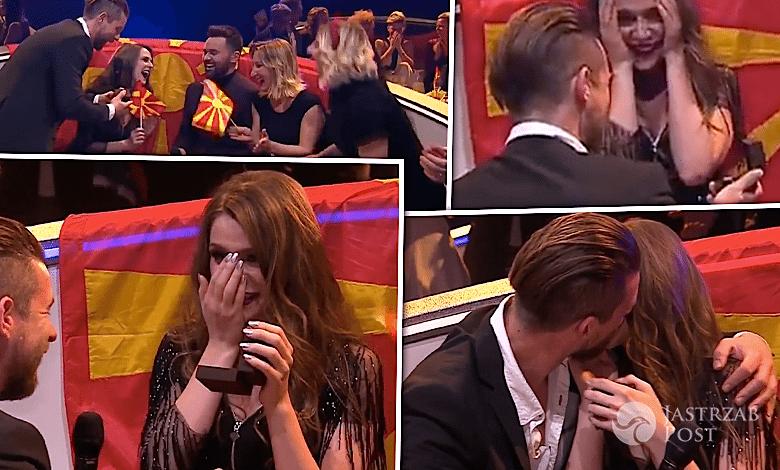 zaręczyny na Eurowizji 2017 oświadczyny