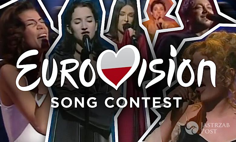 Polacy na Eurowizji lata 90
