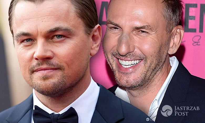 Krzysztof Gojdź i Leonardo DiCaprio