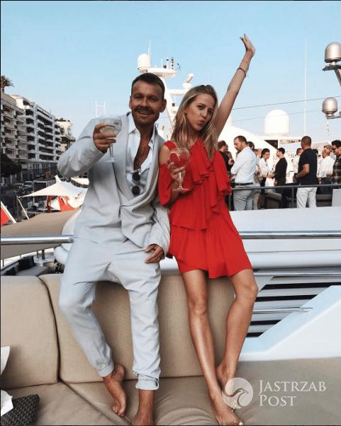 Jessica Mercedes i Dawid Woliński w Monaco
