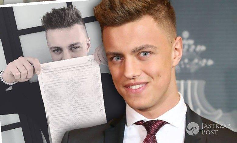 Rafał Jonkisz zdał egzamin na prawo jazdy
