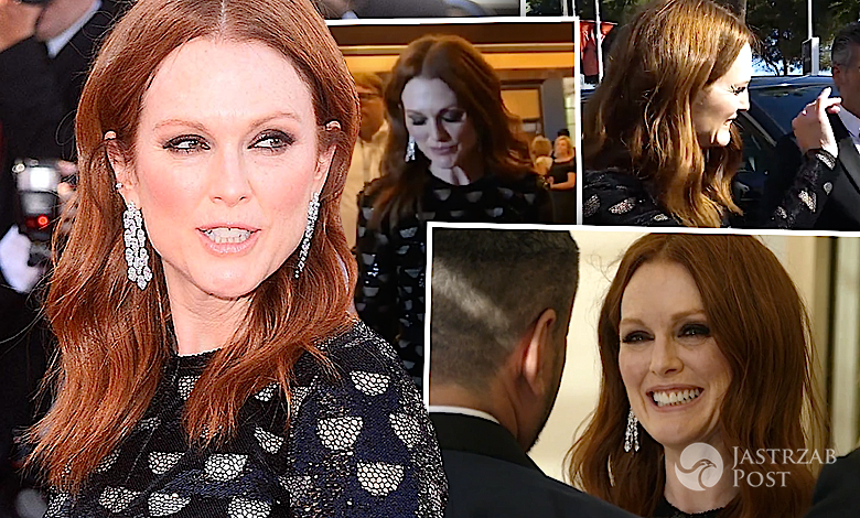 Julianne Moore w Cannes 2017 hotel
