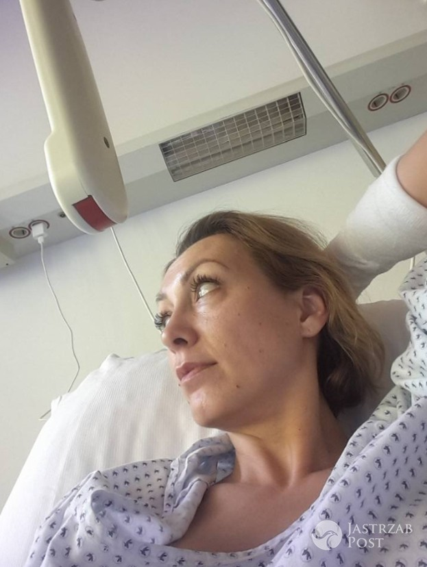 Anna Kalczyńska trafiła do szpitala