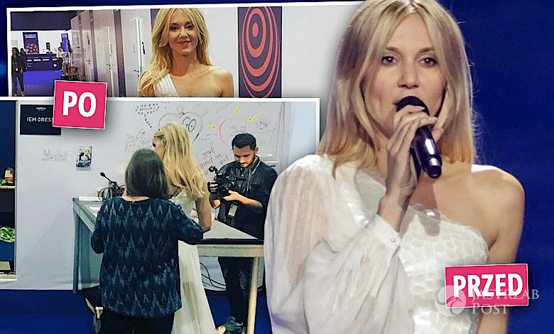 Kasia Moś druga sukienka na Eurowizję 2017