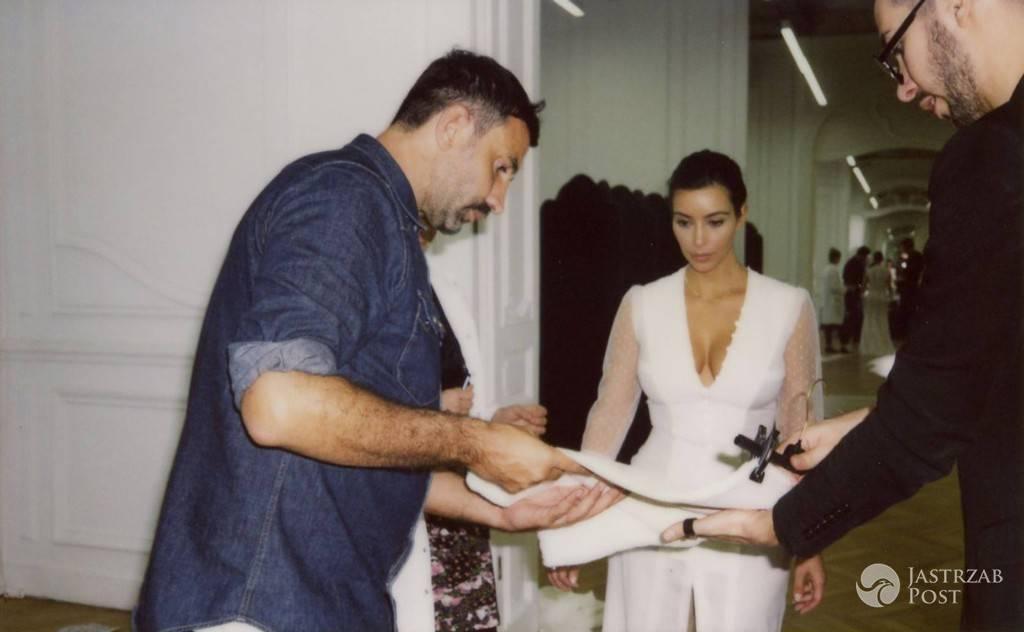 Niepublikowane zdjęcia ze ślubu Kim Kardashian i Kanye Westa