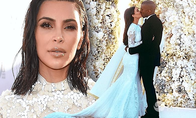 Kim Kardashian prezent ślubny od Kanye