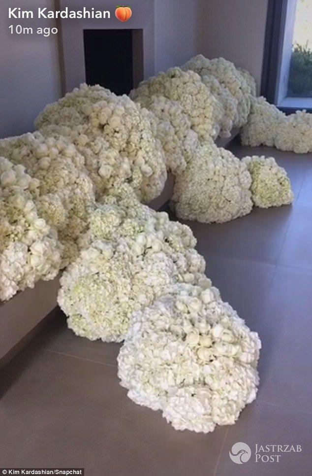 Kwiaty Kim Kardashian