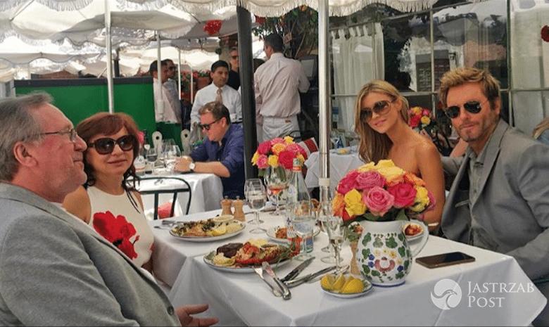 Joanna Krupa i Nico Santucci na kolacji