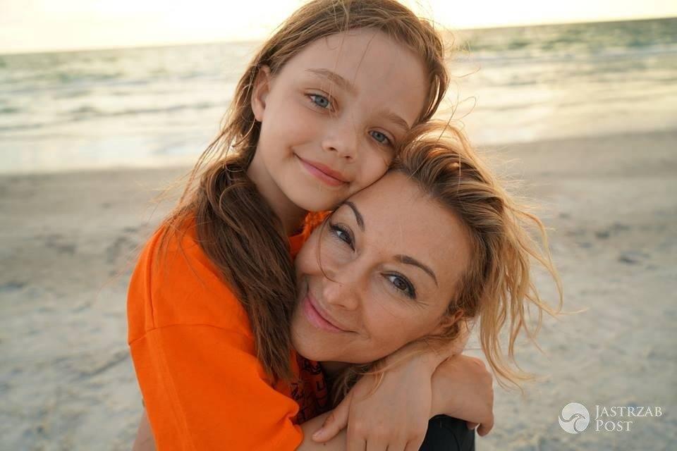 Martyna Wojciechowska z córka Marysią