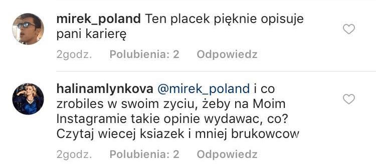 Halina Mlynkova kłóci się z fanem