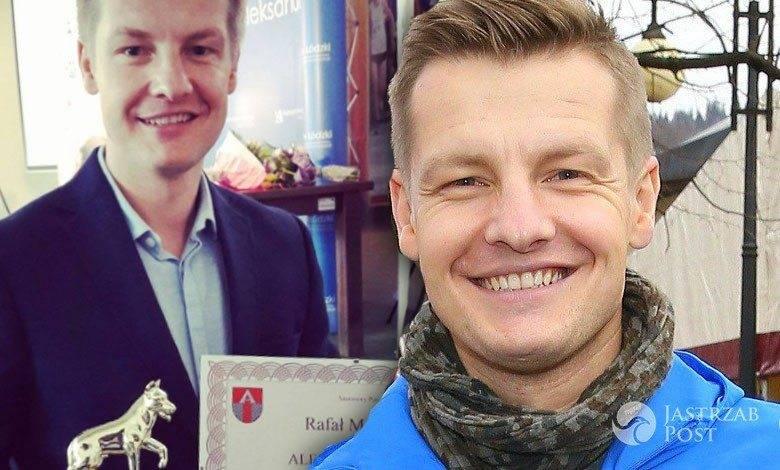 Rafał Mroczek dostał wyróźnienie