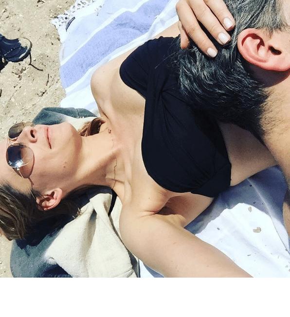 Odeta Moro z partnerem
